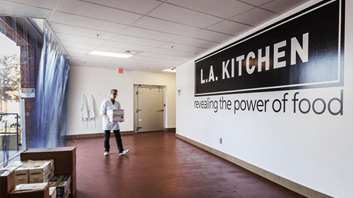LA Kitchen, primary tenant of LA Prep, an LADF funded project