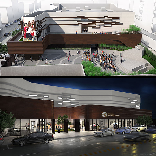 Terasaki Budokan Sports & Recreational Center renderings courtesy of the Little Tokyo Service Center