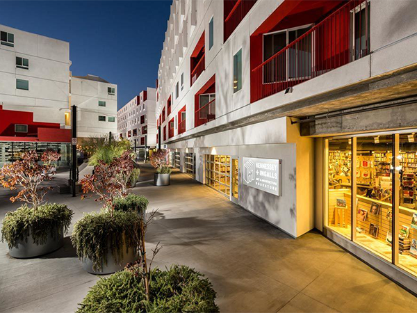 One Santa Fe, a mixed-use development in the Arts District of Los Angeles