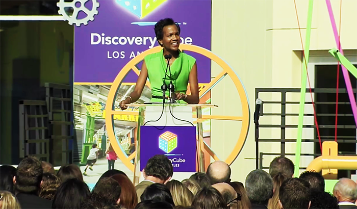 Kafi Blumenfield, Executive Director of Discovery Cube Los Angeles